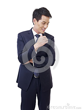 Free Asian Businessman Royalty Free Stock Images - 41558609