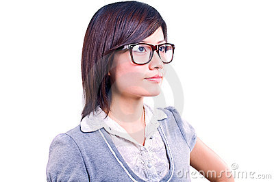 Asian businesswoman portrait