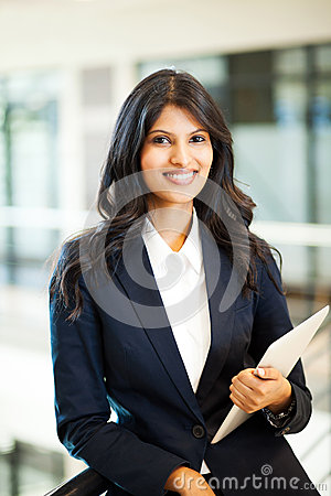 Asian businesswoman tablet computer