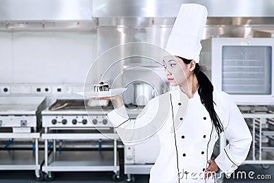 Elegant chef