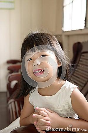 Asian child