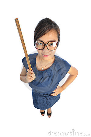 Free Asian Chinese Teacher Looking Stern Stock Photo - 11660610