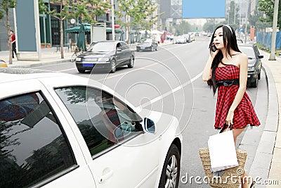 Asian city girl