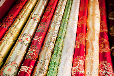 Asian Cloth Pattern