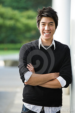 Free Asian College Student Royalty Free Stock Photo - 6006345
