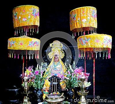Free Asian Colorful Mythological Statue Stock Photos - 58375743