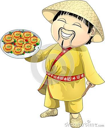 Asian cook