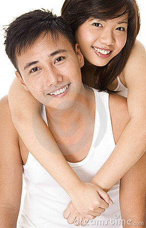 Free Asian Couple 3 Royalty Free Stock Photography - 219037
