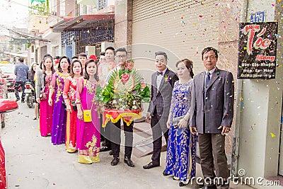Asian Couple At Outdoor Celebration Free Public Domain Cc0 Image