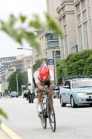 Asian Cycling Championship 2012 at Putrajaya Editorial Stock Image