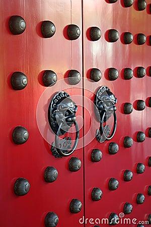 Asian Doorway