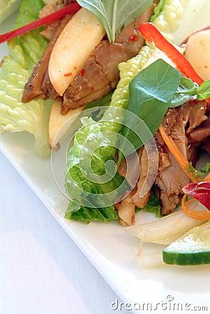 asian duck salad