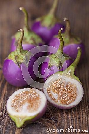 Free Asian Eggplant Stock Photo - 113595790