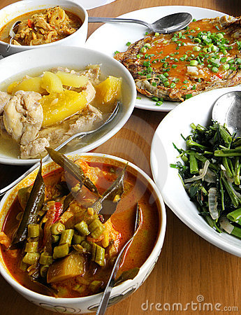 Free Asian Ethnic Food - Assorted Dishes Royalty Free Stock Photo - 10738705
