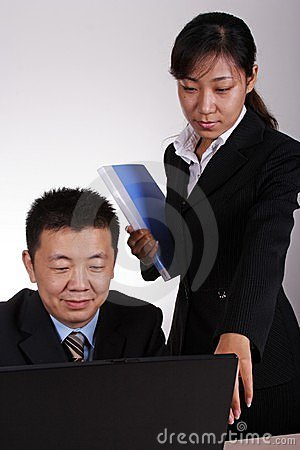 Asian Executive and Secretary