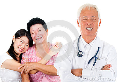Asian expertise medical doctor