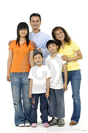 Asian Family Stock Photos - Image: 8669463
