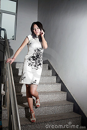 Asian fashion girl