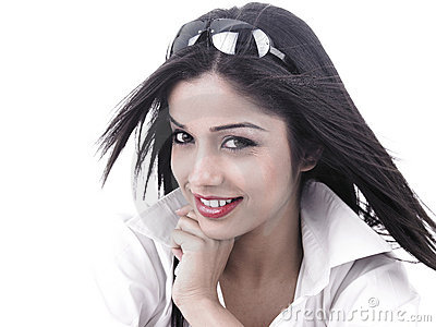 Asian female of indian origin