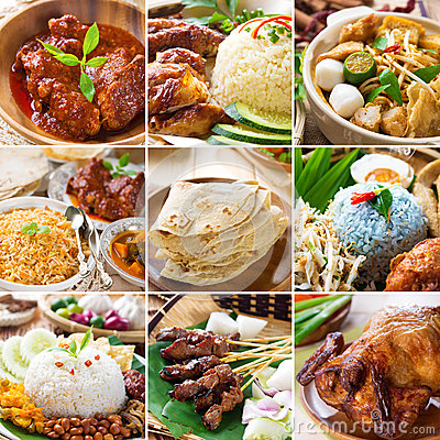 Free Asian Food Collection. Royalty Free Stock Photo - 32561855