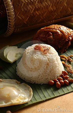 Asian food-Nasi Lemak