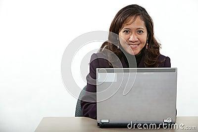 Asian forties businesswoman
