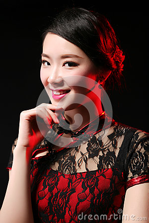 Free Asian Girl Close-up Royalty Free Stock Images - 78153269