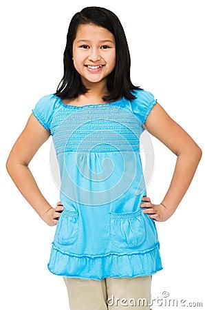Free Asian Girl Posing Royalty Free Stock Images - 9151489