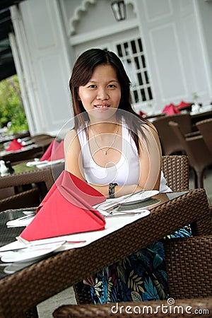 Asian Girl Smiles