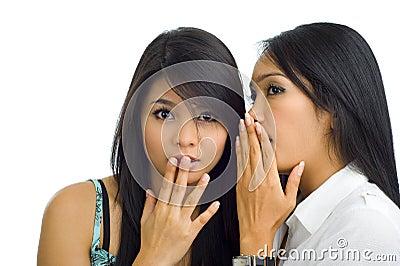 Asian girlfriends gossip