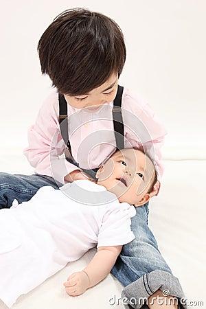 Asian infants