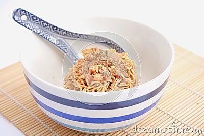 Asian instant soup