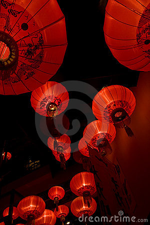 Free Asian Lamps Stock Photo - 10451890