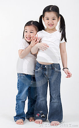 Free Asian Little Girls Royalty Free Stock Photography - 21169387
