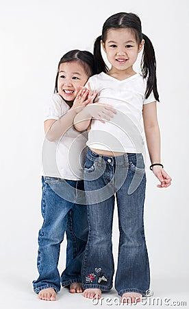 Asian little girls