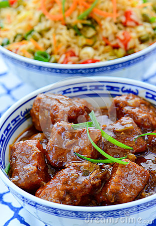 Free Asian Meal Royalty Free Stock Image - 83341836