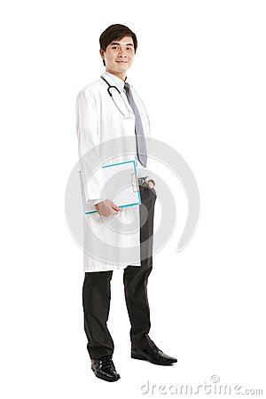 Asian medical doctor