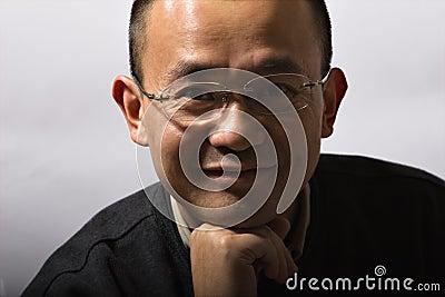Asian mid-adult man