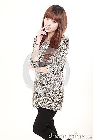 Free Asian Model Royalty Free Stock Image - 12940506