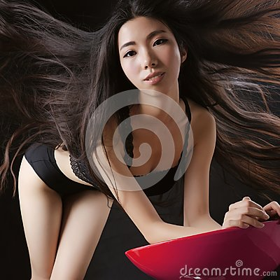 Free Asian Models Have Perfect Bodies Stock Photography - 117365952