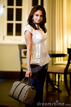 Asian modern indian woman