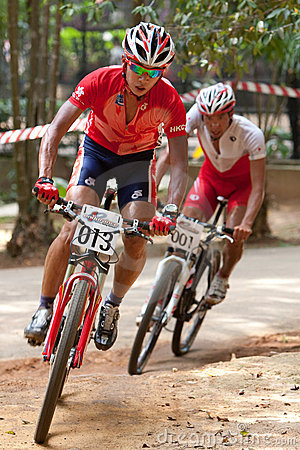 Asian Mountain Bike Championship in Malaysia Editorial Photography