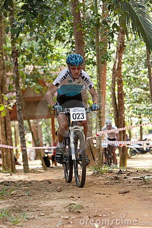 Asian Mountain Bike Championship in Malaysia Editorial Image