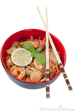Free Asian Noodle Soup Royalty Free Stock Image - 14806156