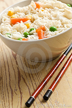 Free Asian Noodle Soup Stock Photography - 17146112