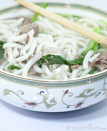 Free Asian Noodle Soup In A China Stock Photos - 20811453