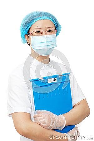 Asian nurse