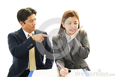 Asian office workers