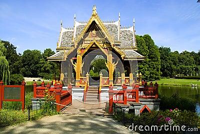 The Asian pagoda