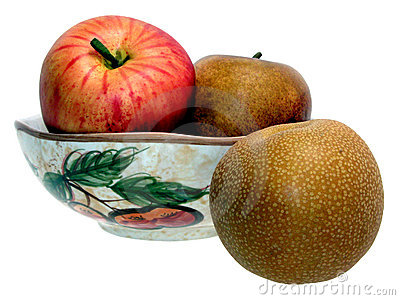 Asian Pear & Fruit Bowl